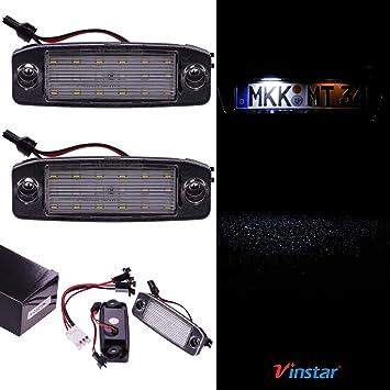 VINSTAR - Iluminación LED para matrícula con certificación E ...