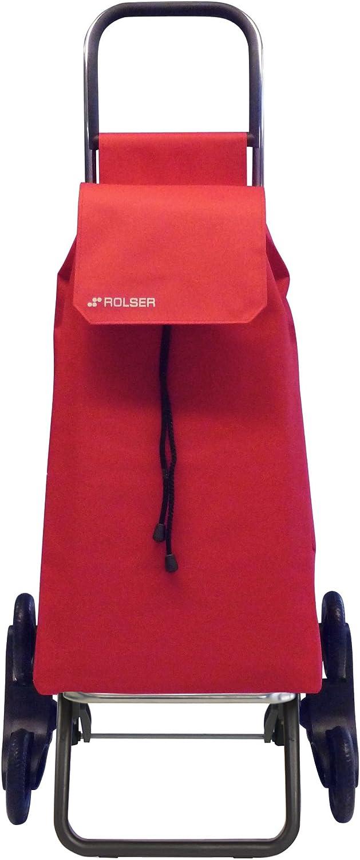 Rolser Maleta Treppensteiger Rd6/saquet, 102,5 cm, Rojo – Rojo, SAQ006 Nylon