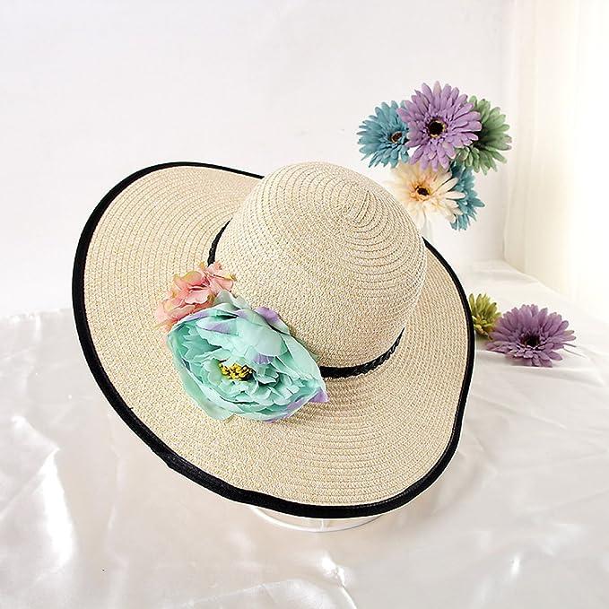 8c25f1dfe550e Nuevos Señora Flores Envolver Dayan Mao Casquillo Del Recorrido Al Aire  Libre Sombrero Para El Sol Gorra De Ocio