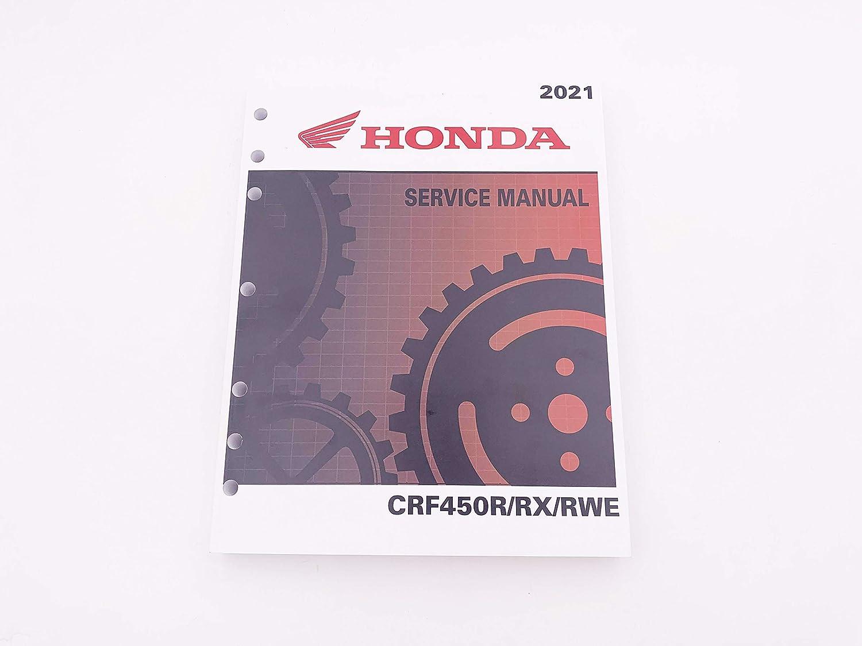 Honda 2021 CRF450R CRF450RX CRF450RWE OEM Repair Service Manual 61MKE90