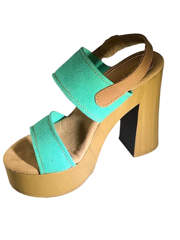 Sbicca Women's Annabela Platform Sandal B019J40NPY 7 B(M) US Turquoise