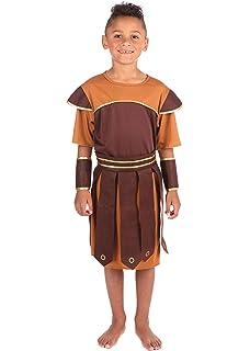 Bristol Novelty - Disfraz Infantil de Soldado Romano para ...