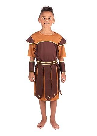 Bristol Novelty - Disfraz Infantil de Soldado Romano para niño niña