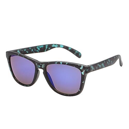 Gafas de Sol Wayfarer Reflexivo de Espejo Peso Ligero Original Para Hombre Mujer UV400