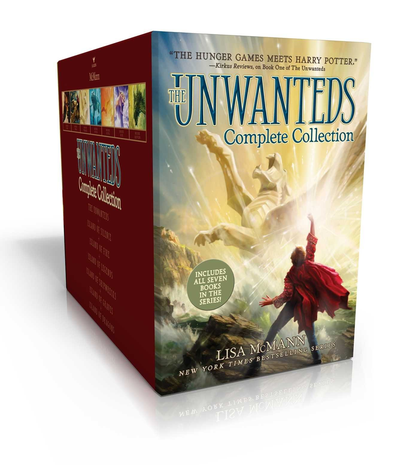 The Unwanteds Complete Collection: The Unwanteds; Island of Silence; Island of Fire; Island of Legends; Island of Shipwrecks; Island of Graves; Island of Dragons
