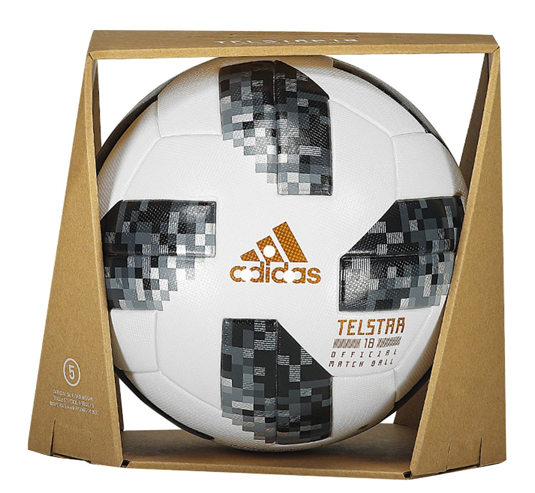 Amazon.com : 2018 Russia World Cup Telstar Official Match Ball Soccer Ball : Sports & Outdoors