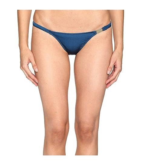 d3c265d512 L Agent by Agent Provocateur Women s Tania Bikini Bottom Teal Swimsuit  Bottoms
