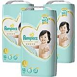【量贩】 Pampers帮宝适 纸尿裤 L大码 (9~14kg) 尿不湿尿片 156枚(52枚×3包)