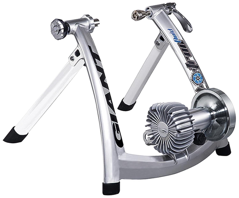 Giant Cyclotron Fluid 屋内自転車トレーナー ブラック/シルバー   B076L5MWB3