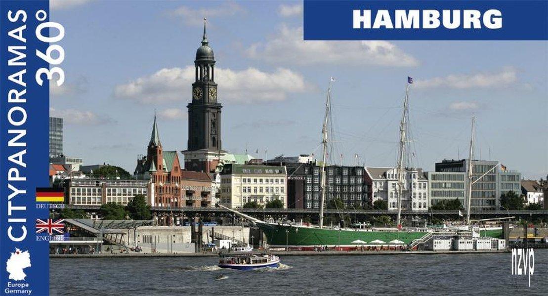 Download City Panoramas 360 Degrees: Hamburg (German and English Edition) ebook