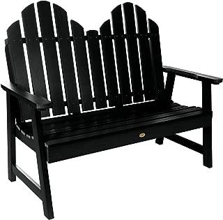 product image for highwood AD-BEN-CW1-BKE Classic Westport Garden Bench, 4ft, Black