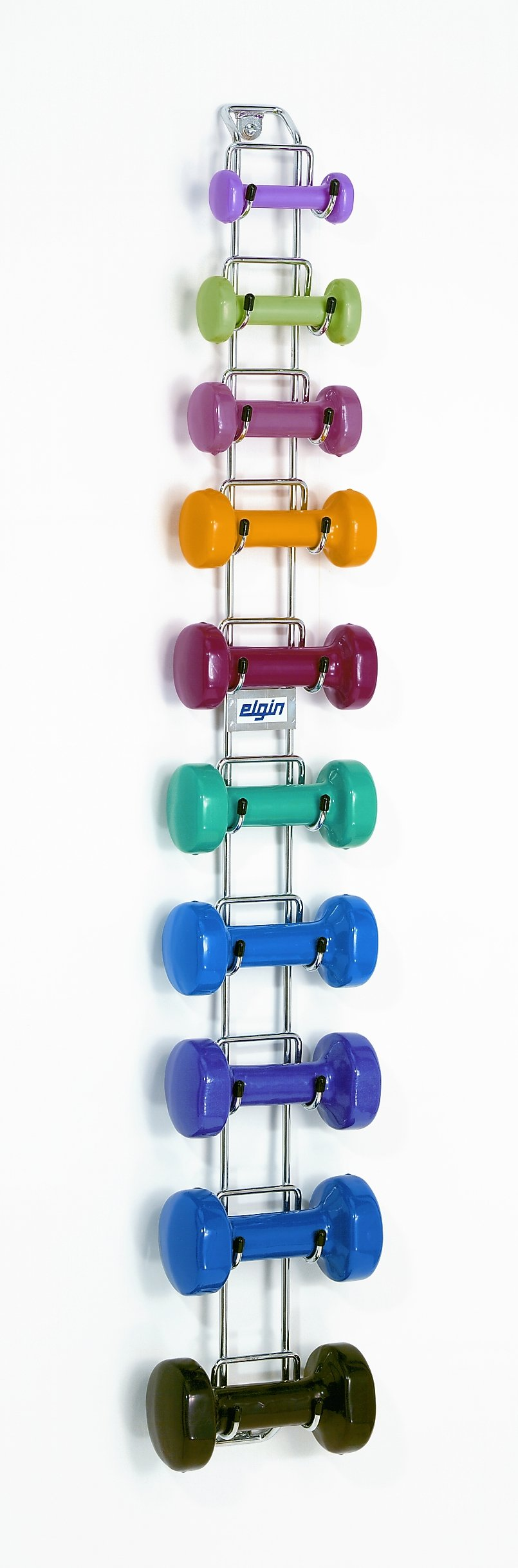 Elgin WR6 Wall-Mounted Dumbbell Rack Package