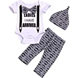 Baby Boy Outfit Set Newborn Coming Home Outfit Tops Pant Romper