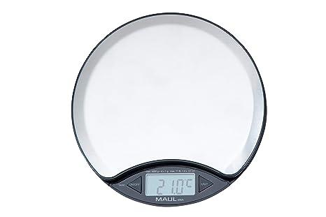 Maul 1675096 - Báscula de acero con batería (hasta 5 kg)