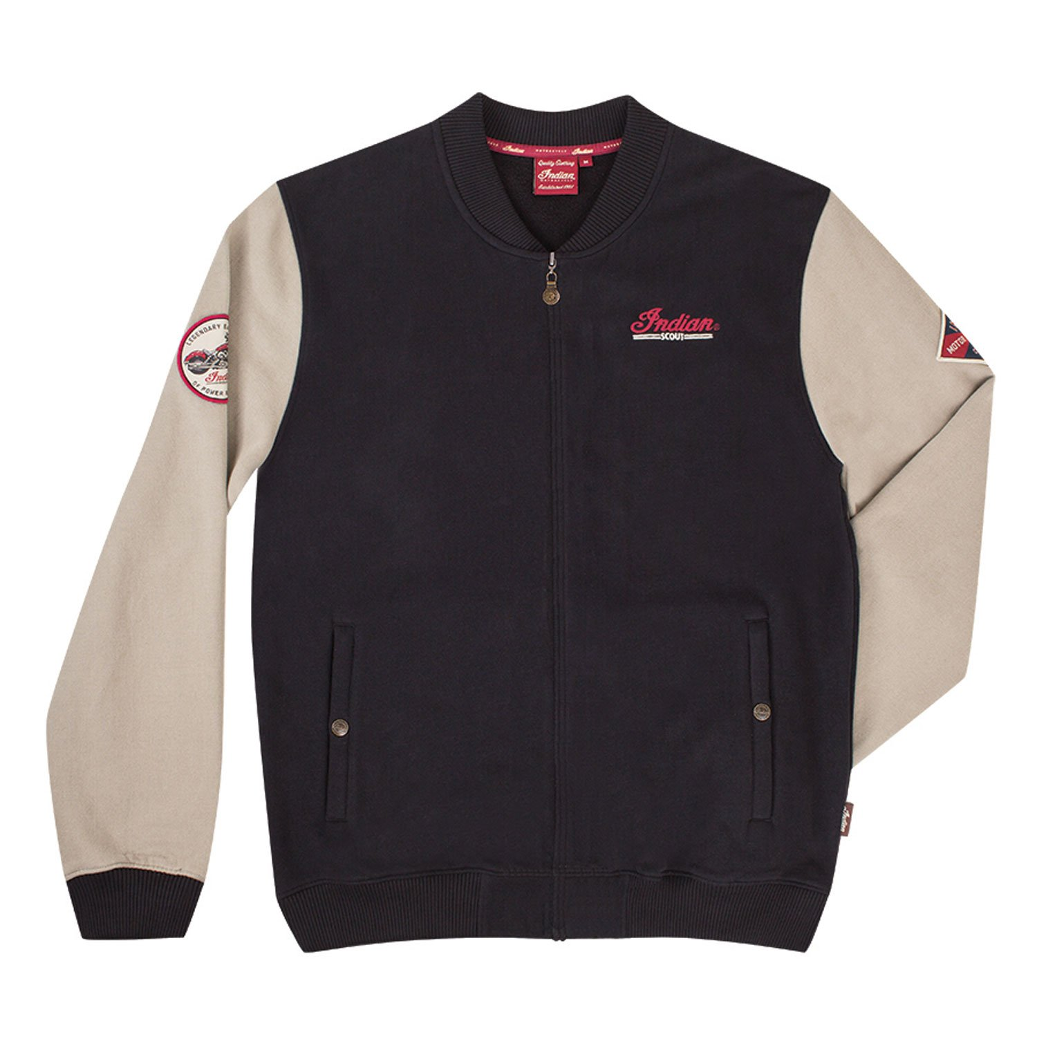 Indian Motorcycle Men's Scout Zip Up - Large by Indian Motorcycle