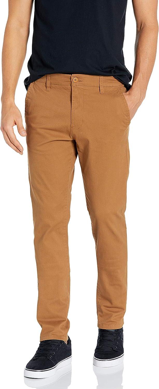 Southpole Mens Flex Stretch Basic Long Chino Pants