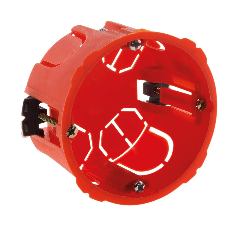 Boîte placo Ø.65 P.40mm pour appareillage vis & griffes livré avec vis No name