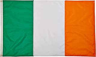 product image for Annin Flagmakers Model 193926 Ireland Flag 3x5 ft. Nylon SolarGuard Nyl-Glo 100% Made in USA to Official United Nations Design Specifications.