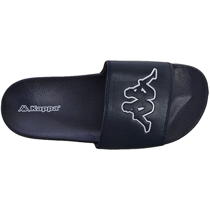Amazon.com: Kappa Gigi Slides para hombre, Azul, 8: Shoes