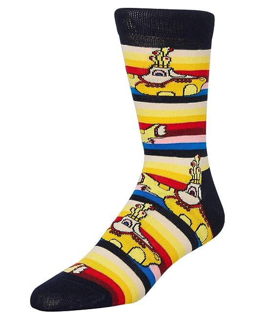 marchio famoso grandi affari 2017 migliore vendita Happy Socks Strblkwr30 I Beatles Giallo Sottomarino Calzini Da ...