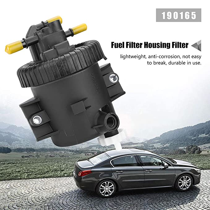Dibiao Bo/îtier de filtre /à carburant en plastique pour voiture filtre pour BERLINGO XSARA PICASSO 206 306 307 2.0 HDi