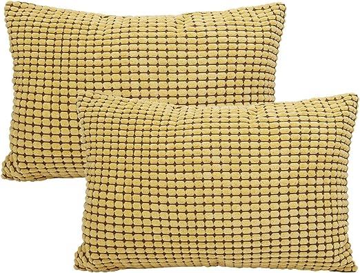 DRB Collection 18 X 18 Stripe Throw Pillow Set of 2 18X18 2 Piece