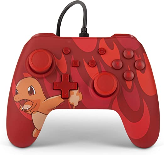 PowerA Mando con cable para Nintendo Switch: Pokémon - Charmander Blaze: Amazon.es: Videojuegos
