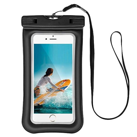 buy popular 5bb46 258be Amazon.com: Universal Waterproof Case Compatible Samsung Galaxy A7 ...