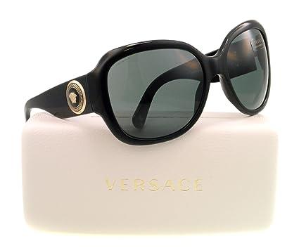 107286a2e7e09 Amazon.com  Versace GB1 87 Black 4243 Round Sunglasses Lens Category ...