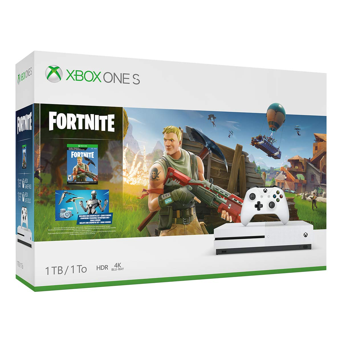 Xbox One S 1TB Console - Fortnite Bundle (Discontinued) by Microsoft (Image #2)