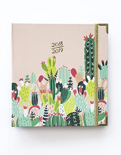 Idlewild Co.. 2018-2019 17 Month Academic Planner Agenda Prickly Pear
