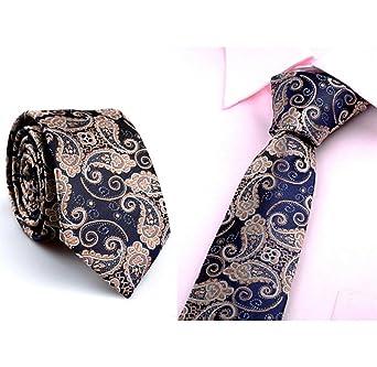bellelove, Casual Slim Plain Mens sólido apertura maigre corbata ...