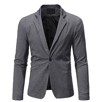 LuckyGirls Abrigos de Traje Negocio Chaqueta de Vestir Slim Fit Casual Blazers: Amazon.es: Deportes y aire libre