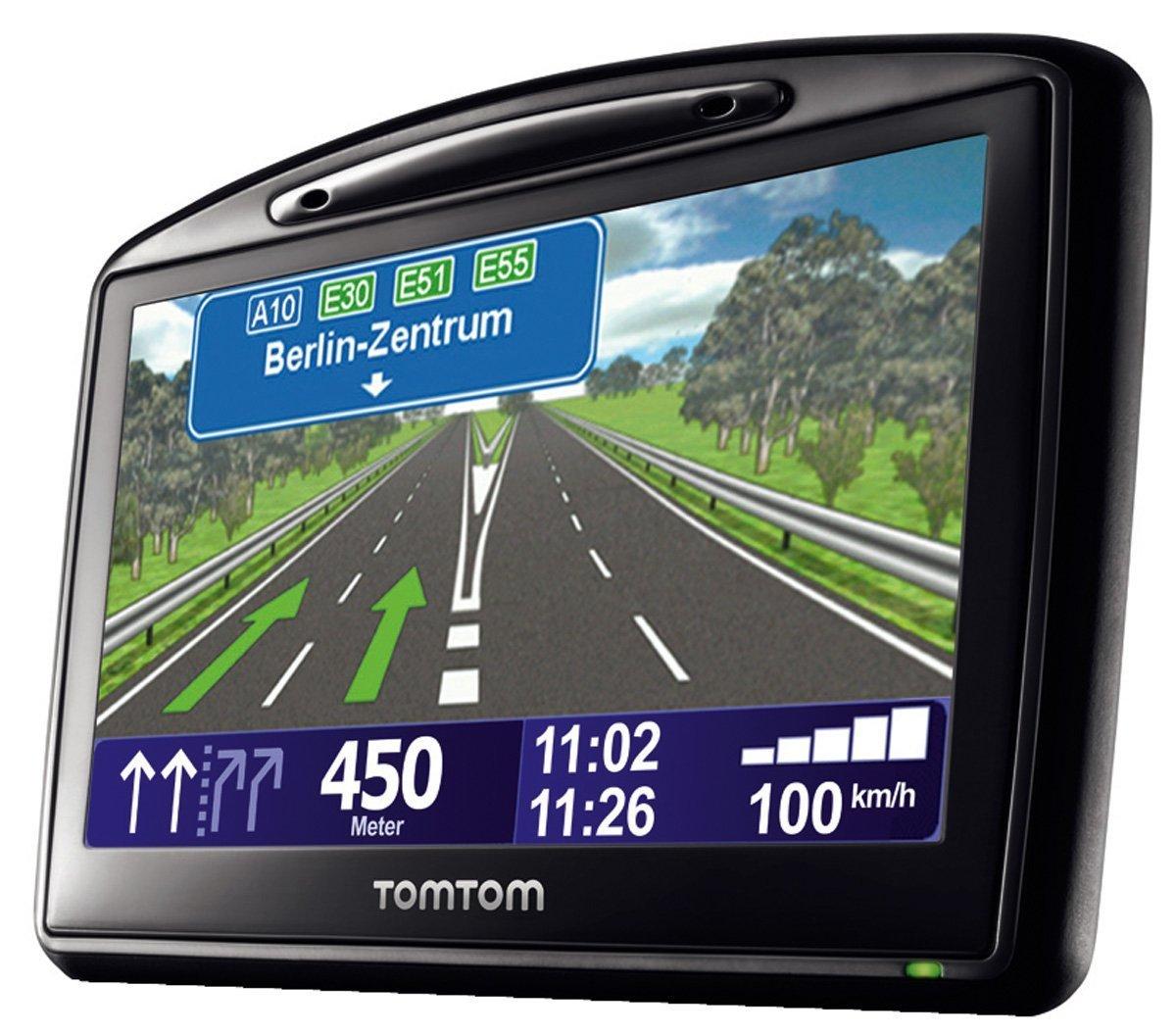 TomTom Go 730 Traffic Navigationssystem inkl. TMC Pro (10,9 cm (4,3 Zoll) Display, 31 Lä nderkarten, Bluetooth, Text-to-Speech, Fahrspurassistent) 1CH7.016.00 Navigationssysteme