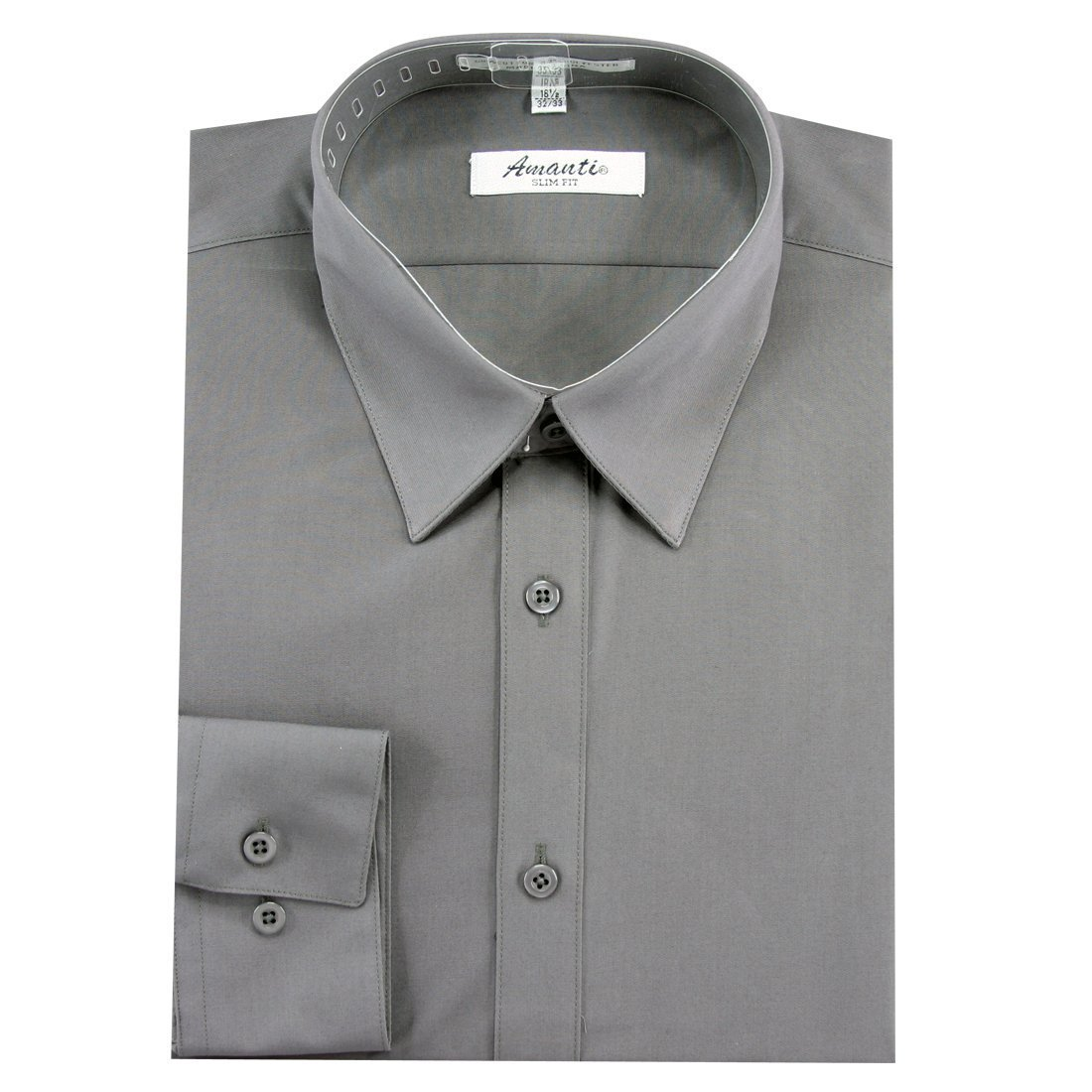 Amanti Slim Fit Dress Shirt Convertible Cuff