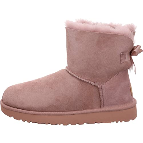 0f051df544f UGG - Boots Mini Bailey Bow II - Dusk, Size:6 UK