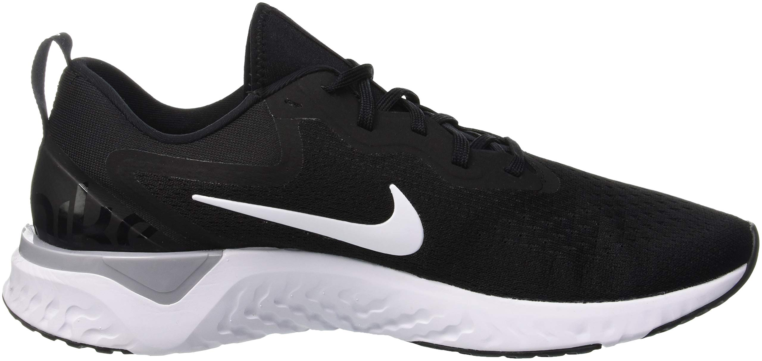 Nike Odyssey React Mens Running Trainers AO9819 Sneakers Shoes (UK 6 US 7 EU 40, Black White Wolf Grey 001) by Nike (Image #6)