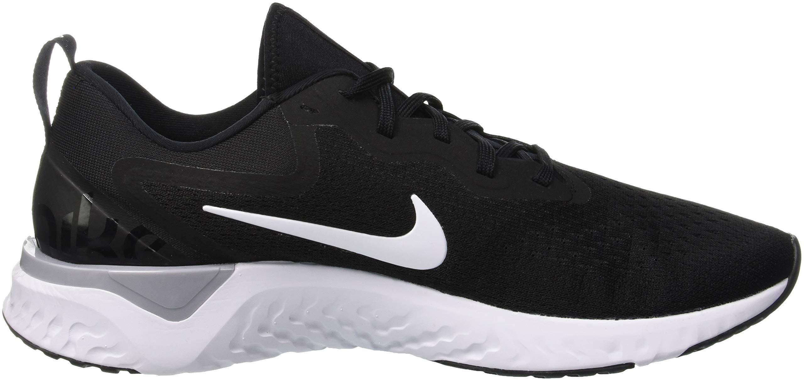 Nike Men's Odyssey React Running Shoe Black/White-Wolf Grey 7.5 by Nike (Image #6)