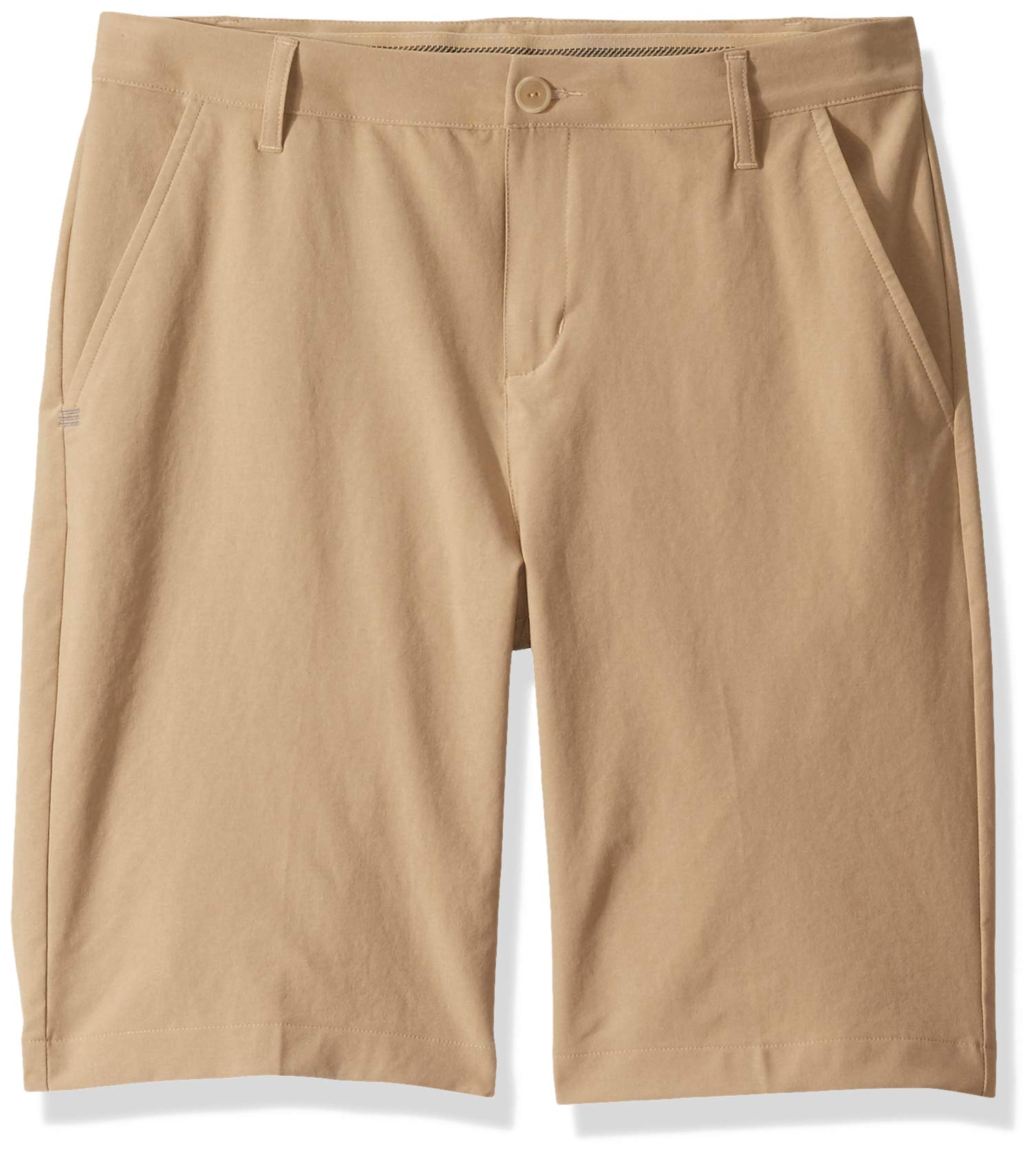 adidas Golf Solid Golf Shorts, Raw Gold, Medium by adidas