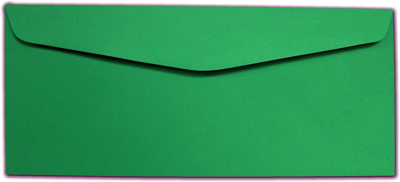 Green #10 Envelopes 100 Envelopes