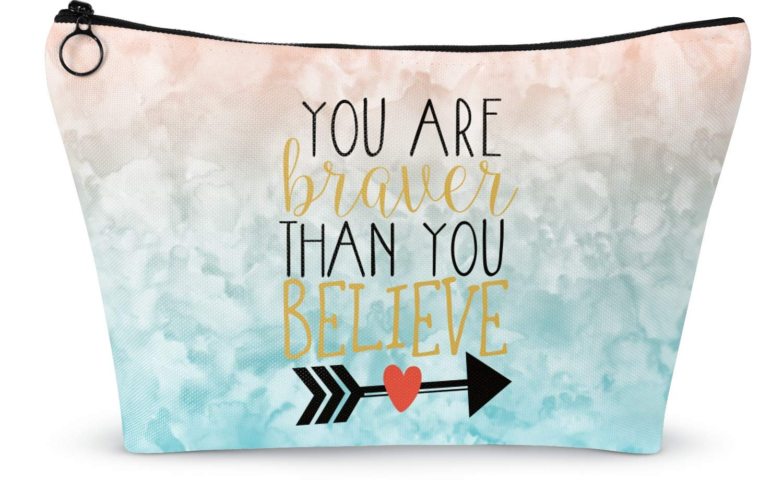 Amazon.com  Inspirational Quotes Makeup Bag , Large , 12.5