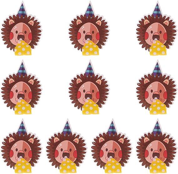 STOBOK Anillo para Divertido Juguete de Fiesta de Campana de Beso Rojo Gran Novedad Creativa Divertidos Suministros Divertidos para Fiesta