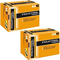Duracell Industrial AA / LR6 Alkaline Battery (2 x 10 Pack)