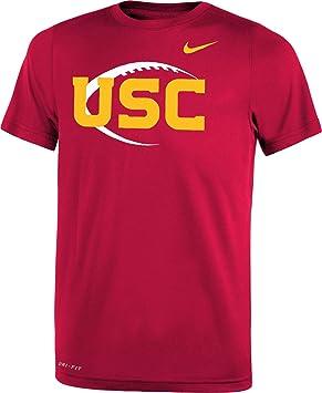 Nike Juventud USC Troyanos Cardinal Icono Leyenda - Camiseta de fútbol, Rojo: Amazon.es: Deportes y aire libre
