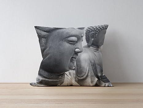 Cojín Buda 30 x 30 cm: Amazon.es: Hogar
