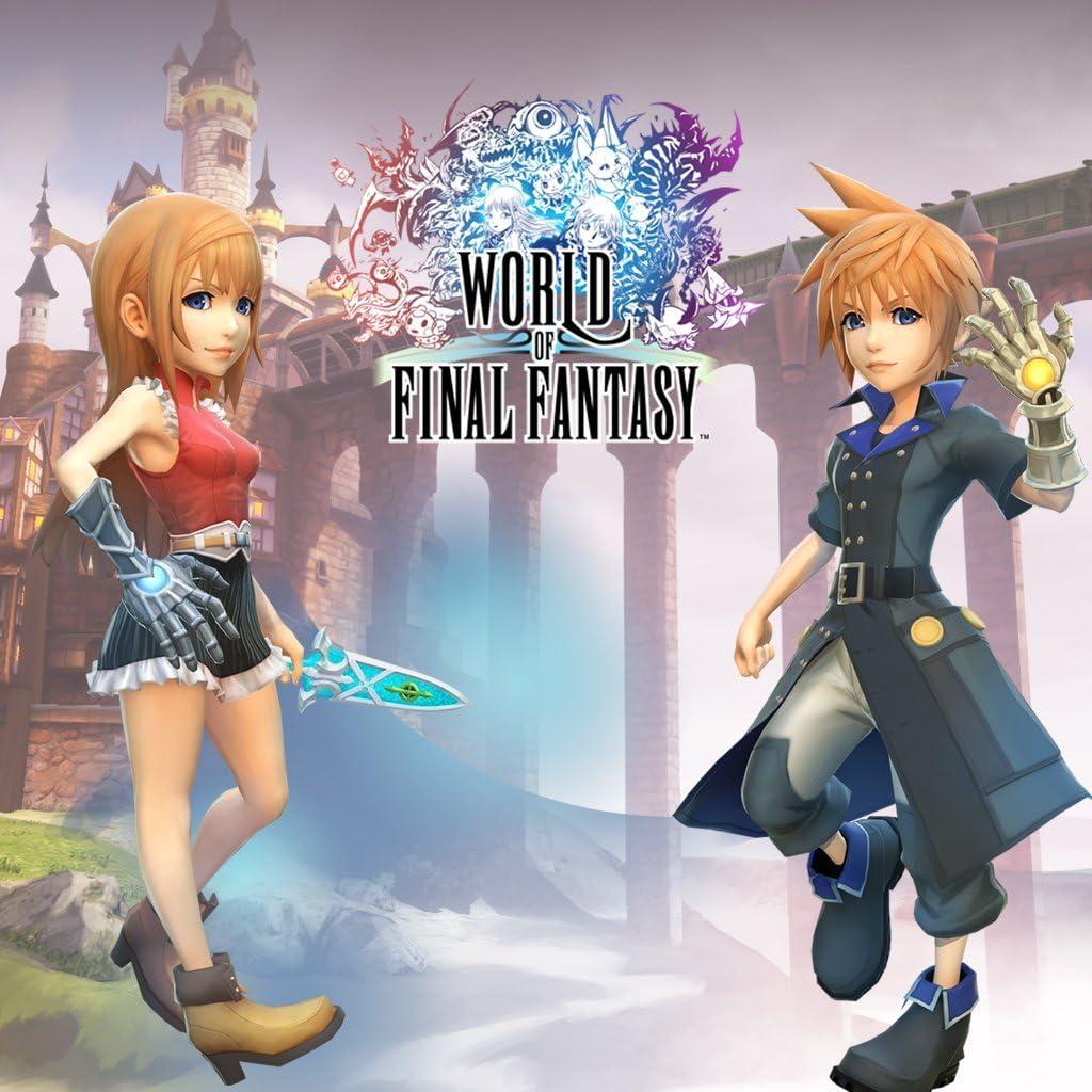 Amazon com: World Of Final Fantasy - PS Vita [Digital Code]: Video Games