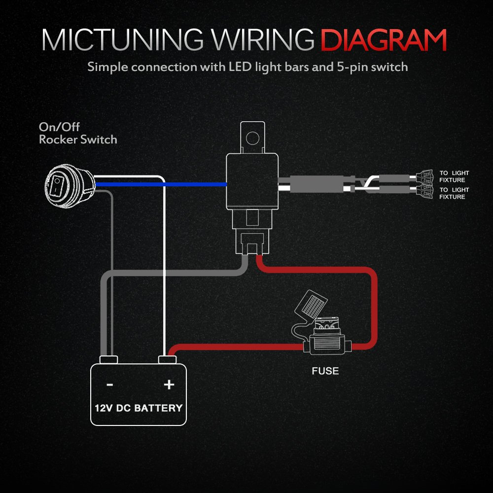 Mic Tuning Inc Wiring Harness Land Rover Light Bar Diagram