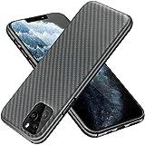 【YOCOM】 iPhone 11 pro max ケース スリム 軽量 ケース付いて充電対応 耐衝撃 スクラッチ防止 指紋防止 高強度 ケブラー質材採用 高放熱性 iPhone 11 pro max カバー 薄型 アイフォン11 pro max ケース ブラック
