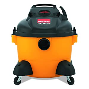 Shop-Vac 9650610 3.0-Peak Horsepower Right Stuff Wet/Dry Vacuum 6-Gallon with Tool Storage & Accessories, Uses Type X Cartridge Filter & Type H Filter Bag & Type R Foam Sleeve