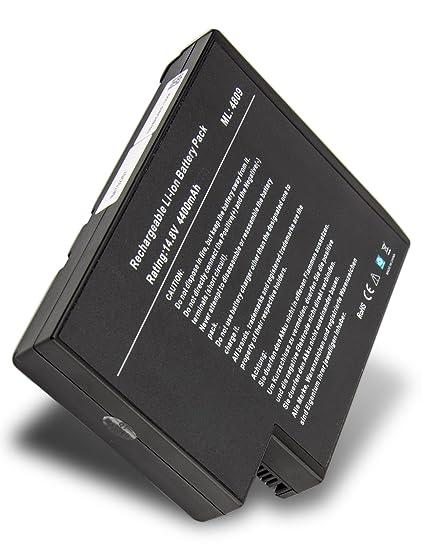 Classic – Batería de repuesto para ordenador portátil HP Pavilion ZE4323EA (4400 mAh/14